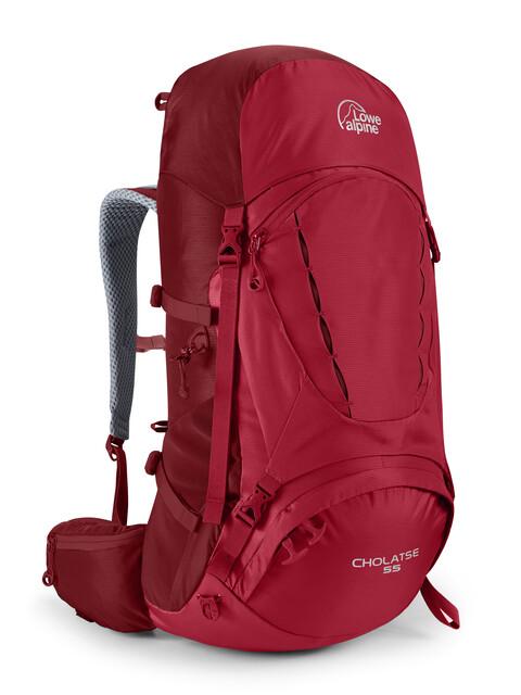 Lowe Alpine Cholatse 55 - Sac à dos Homme - rouge